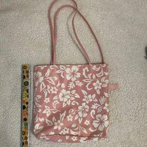 Sunny flower design small tote bag